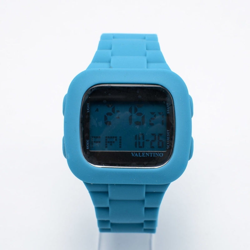 Valentino 20121738-BLUE UNISEX RUBBER STRAP Watch for Men and Women - Watchportal Philippines