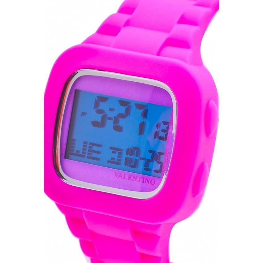 Valentino 20121738-PINK UNISEX  RUBBER STRAP Watch for Men and Women - Watchportal Philippines