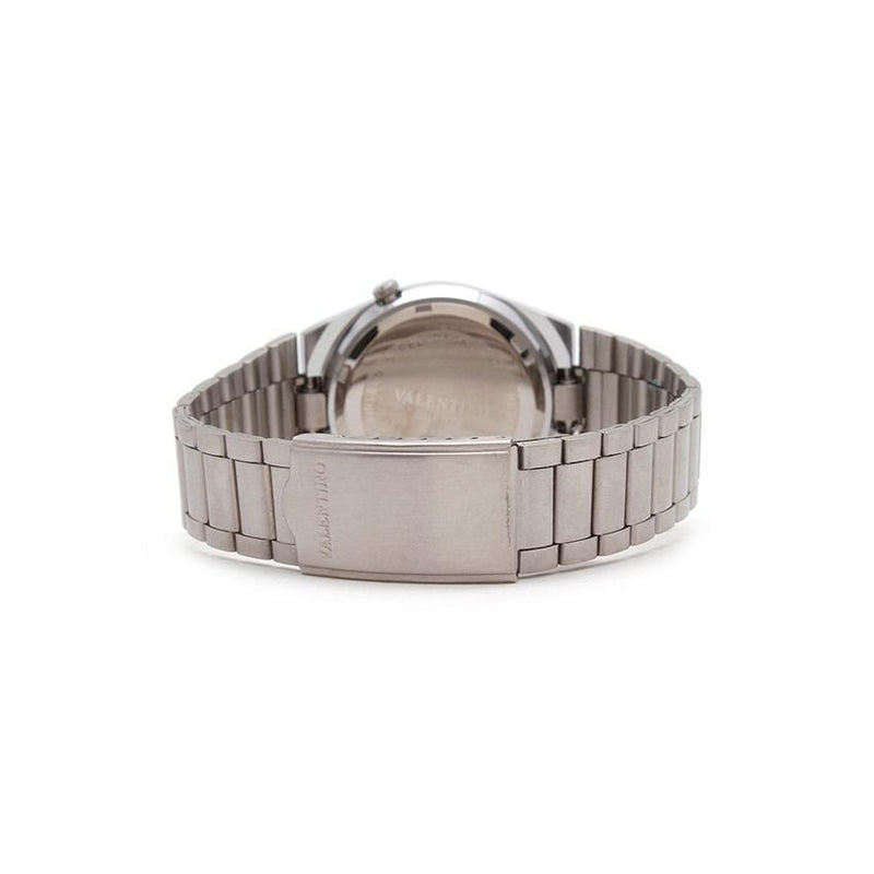 Valentino 20121842-WHITE DIAL STAINLESS BAND STRAP Watch for Men