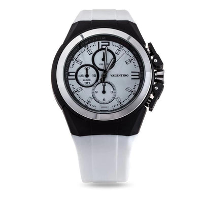 Valentino 20121900-WHITE RUBBER STRAP Watch For Men - Watchportal Philippines