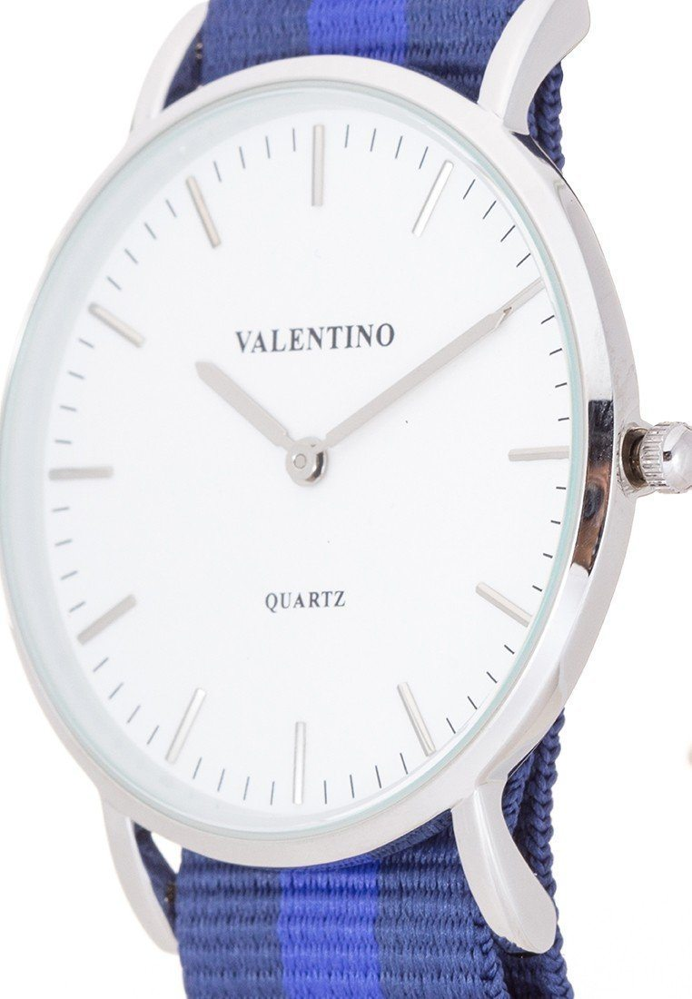 Valentino 20121903-DBLUE BLUE NYLON STRAP Watch For Men - Watchportal Philippines