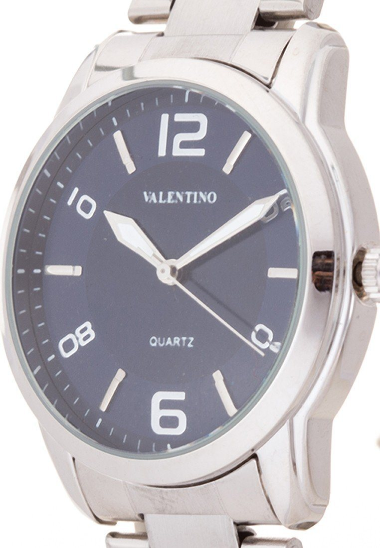 Valentino 20121911-BLUE DIAL STAINLESS BAND Strap Watch For Men - Watchportal Philippines