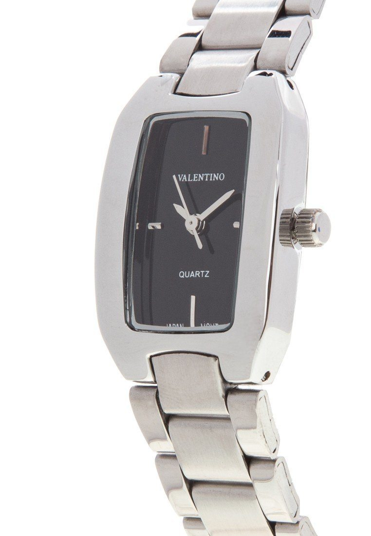 Valentino 20121949-BLACK SILVER STAINLESS BAND Watch For Women - Watchportal Philippines