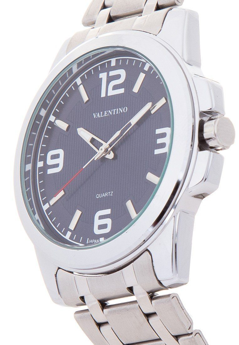 Valentino 20121954-BLUE SILVER STAINLESS BAND Watch For Men - Watchportal Philippines
