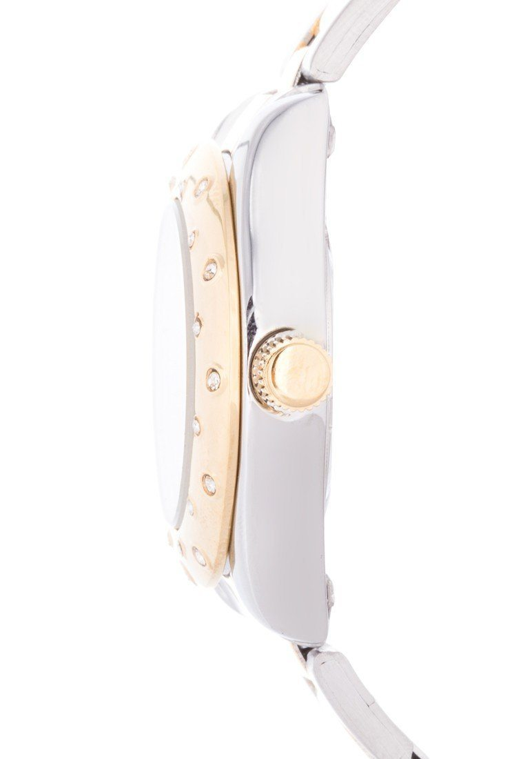 Valentino 20121973-TWO TONE - SILVER DIAL TWO TONE STAINLESS BAND Watch For Women - Watchportal Philippines