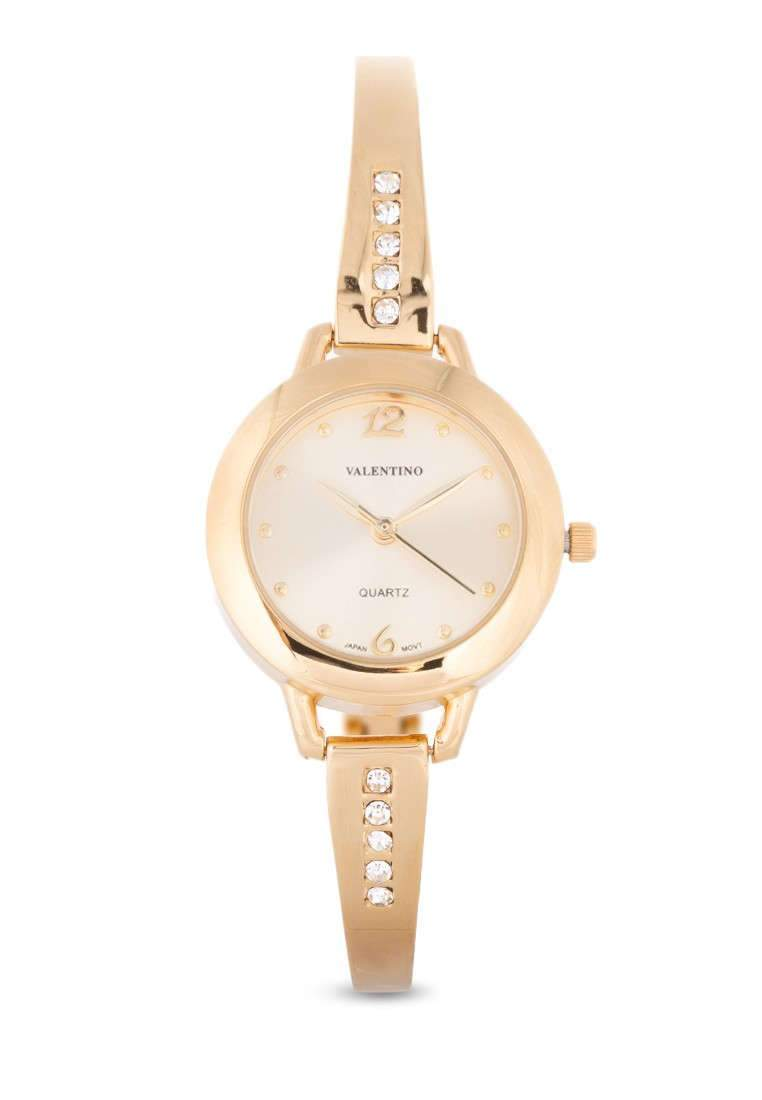 Valentino 20121980-GOLD DIAL FASHION METAL - ALLOY Watch For Women