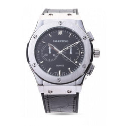 Valentino 20122071-BLACK DIAL BLACK RUBBER STRAP Watch for Men