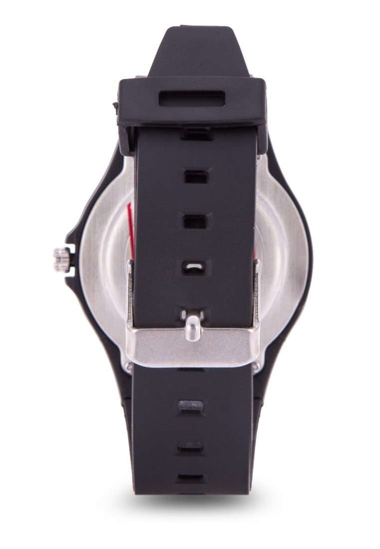Valentino 20122084-DOT - BLUE DIAL BLACK RUBBER STRAP Watch for Men and Women