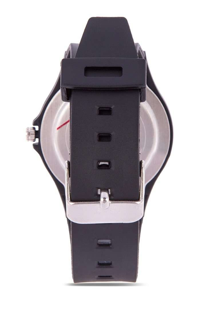 Valentino 20122084-DOT - GOLD DIAL BLACK RUBBER STRAP Watch for Men and Women