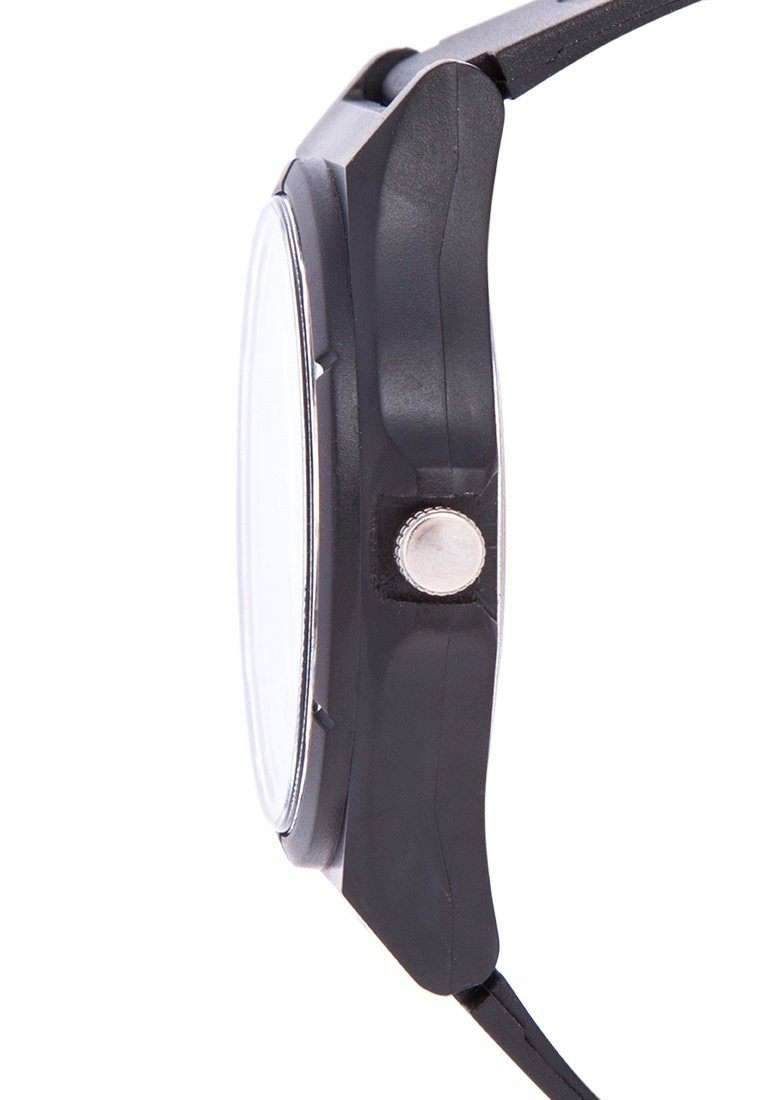 Valentino 20122084-NUMBER - BLACK DIAL BLACK RUBBER STRAP Watch for Men and Women