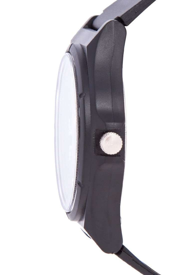 Valentino 20122084-WHITE NUMBER BLACK RUBBER STRAP Watch for Men and Women