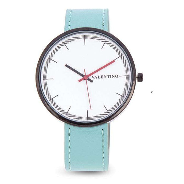 Valentino 20122095-BLUE GREEN STRAP BLUE GREEN LEATHER STRAP Watch for Men and Women