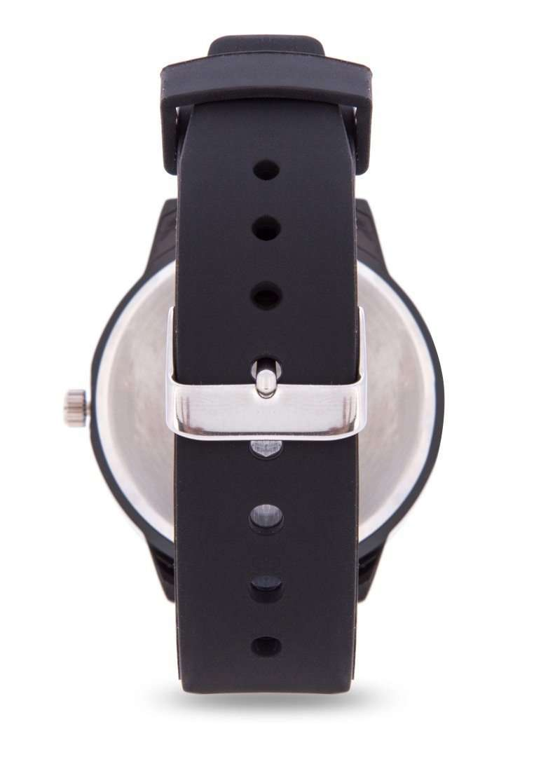 Valentino 20122096-ORANGE INDEX BLACK SILICON STRAP Watch for Men
