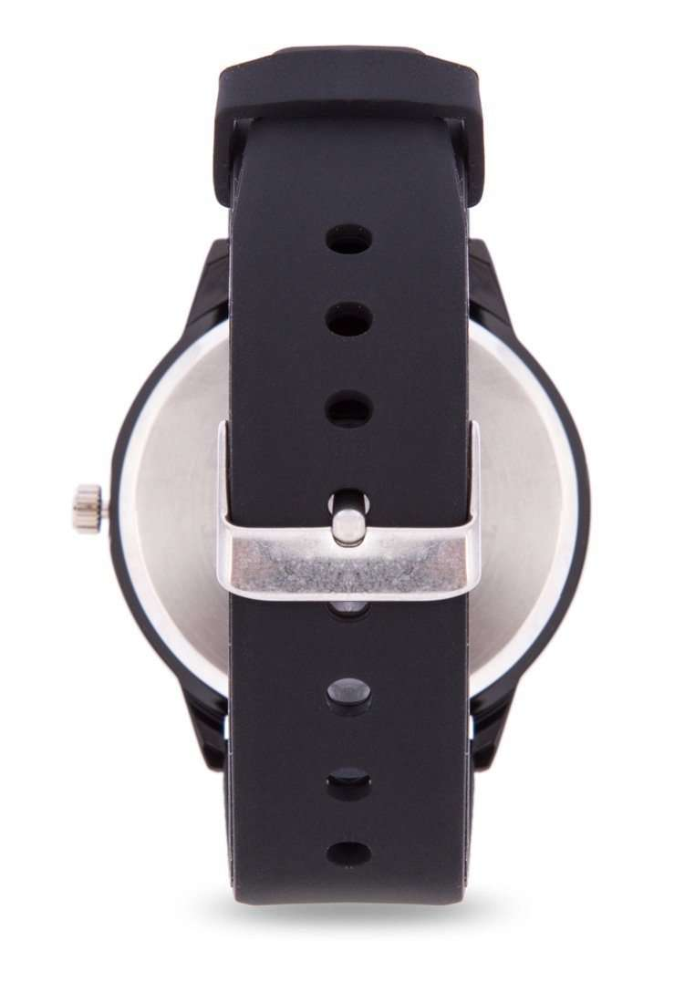 Valentino 20122096-RED INDEX BLACK SILICON STRAP Watch for Men