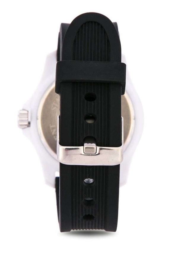Valentino 20122097-WHITE CASE BLACK RUBBER STRAP Watch for Men