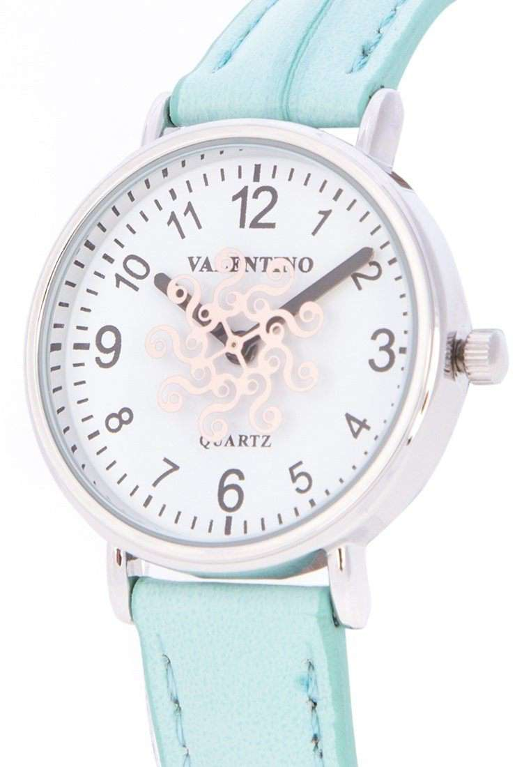 Valentino 20122100-BLUE STRAP BLUE LEATHER STRAP Watch for Women