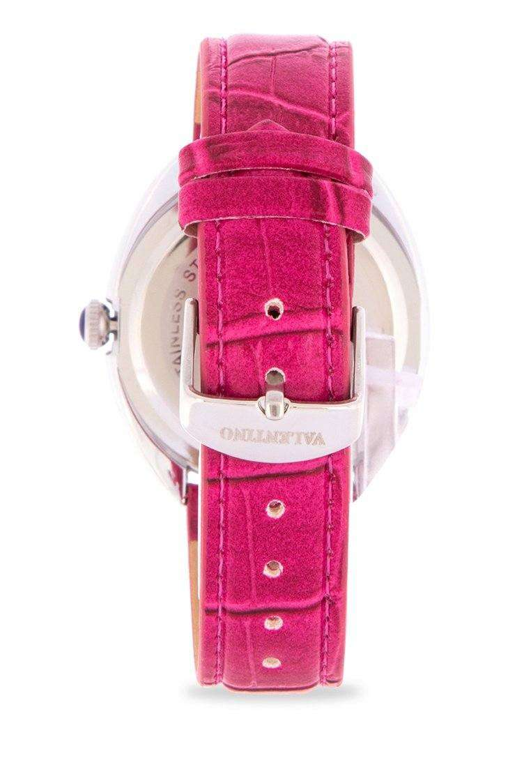 Valentino 20122125-RED STRAP Red Leather Strap Watch for Women
