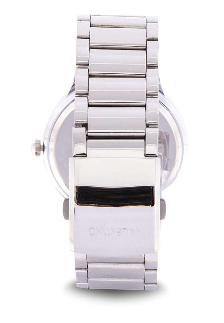 Valentino 20122137-SILVER DIAL Silver Stainless Steel Band Watch for Men