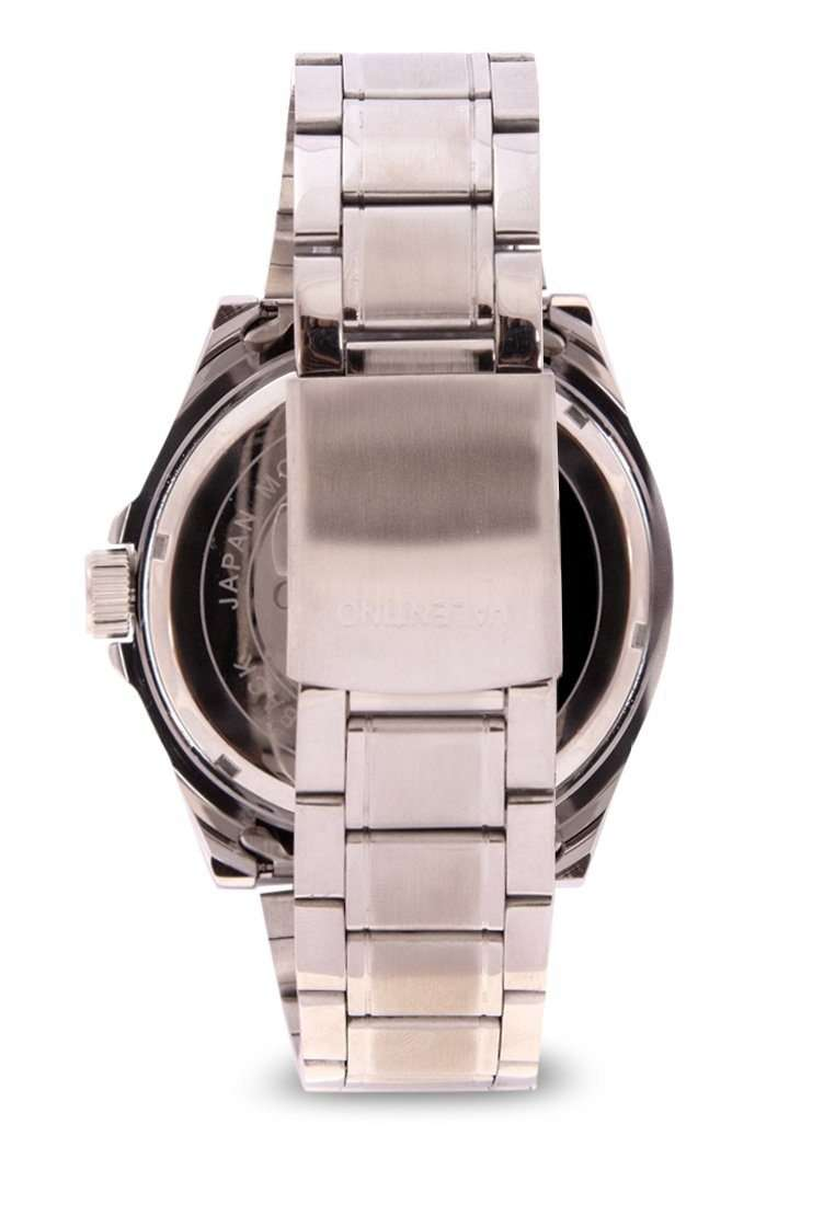 Valentino 20122143-WHITE DIAL Silver Stainless Steel Band Watch for Men