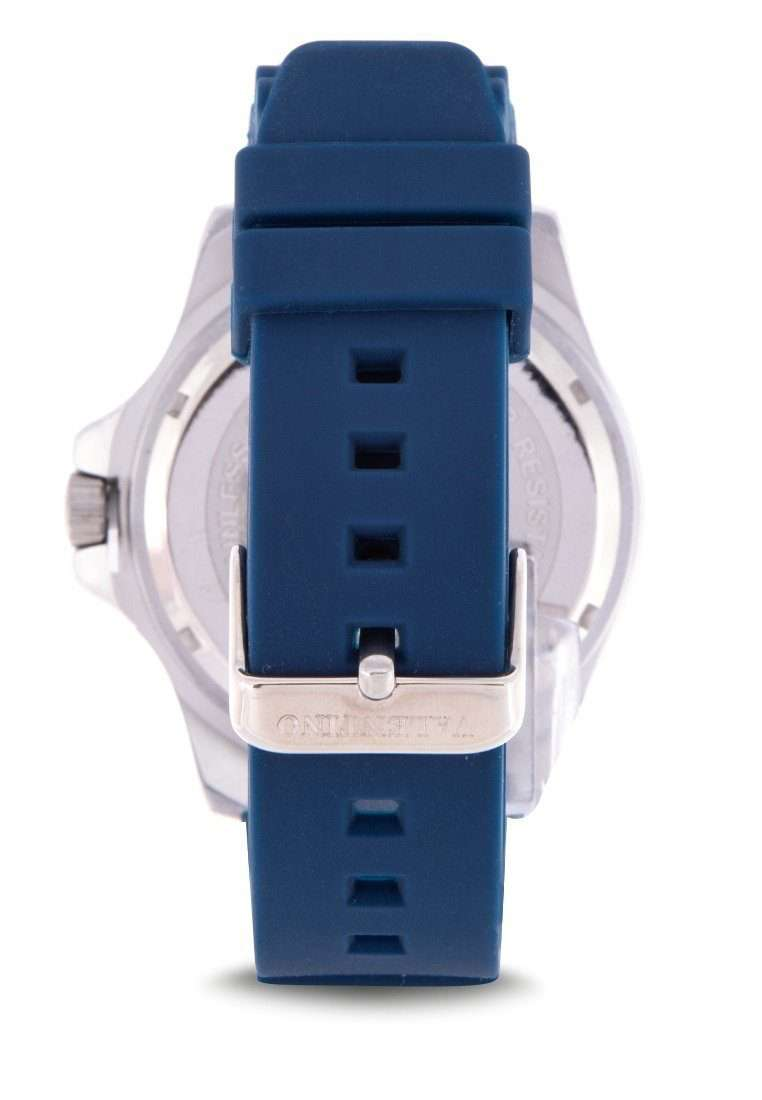 Valentino 20122178-BLUE STRAP Blue Rubber Strap Watch for Men