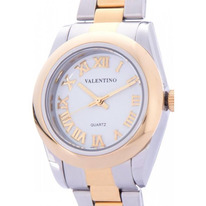 Valentino 20122023-WHITE DIAL GOLD STAINLESS STEEL STRAP Watch for Women