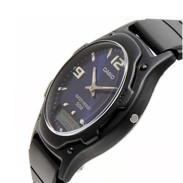 Casio Standard Men's Black Resin Strap Watch- AW-49HE-2AVDF - Watchportal Philippines