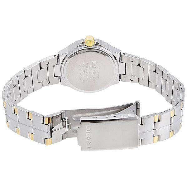 Casio LTP-1242SG-1C Silver Stainless Steel Strap Watch for Women - Watchportal Philippines