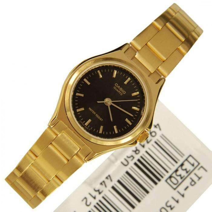 Casio LTP-1130N-1A Gold Plated Watch for Women - Watchportal Philippines