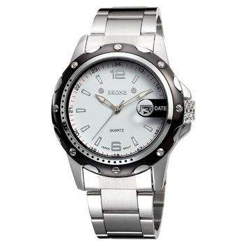 Skone 7147-2 Men's Stainless Steel Watch
