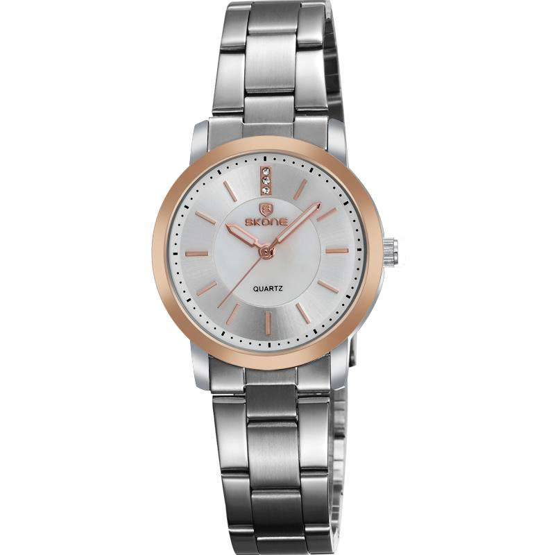 Skone 7356-4 Women's Stainless Steel Watch