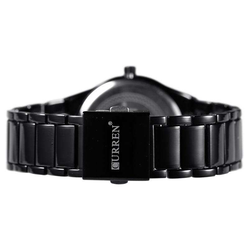 Curren 8106D-4-Black/Black Stainless Steel Watch