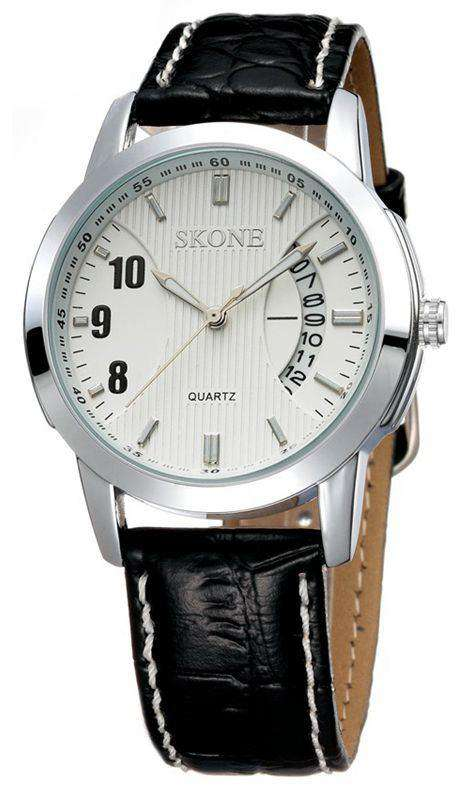 Skone 9108-man-2 Men's Leather Watch