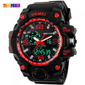 SKMEI AD1155 Red with Silicon Strap Watch for Men