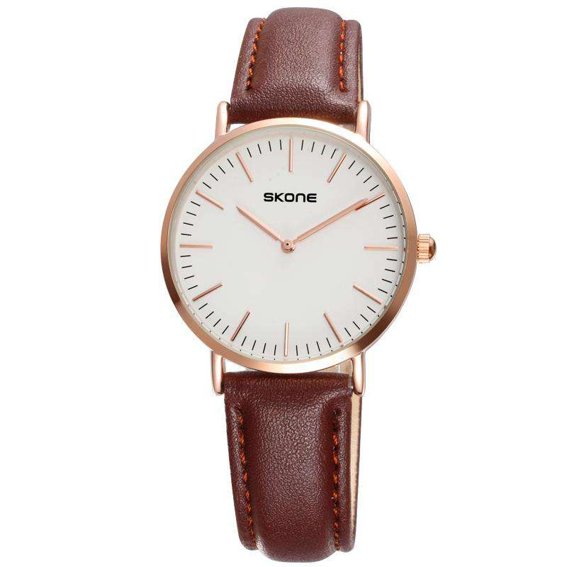 Skone 9451-lady-1 Women's Leather Watch
