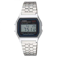Casio A159W-N1DF Silver Stainless Watch for Men and Women