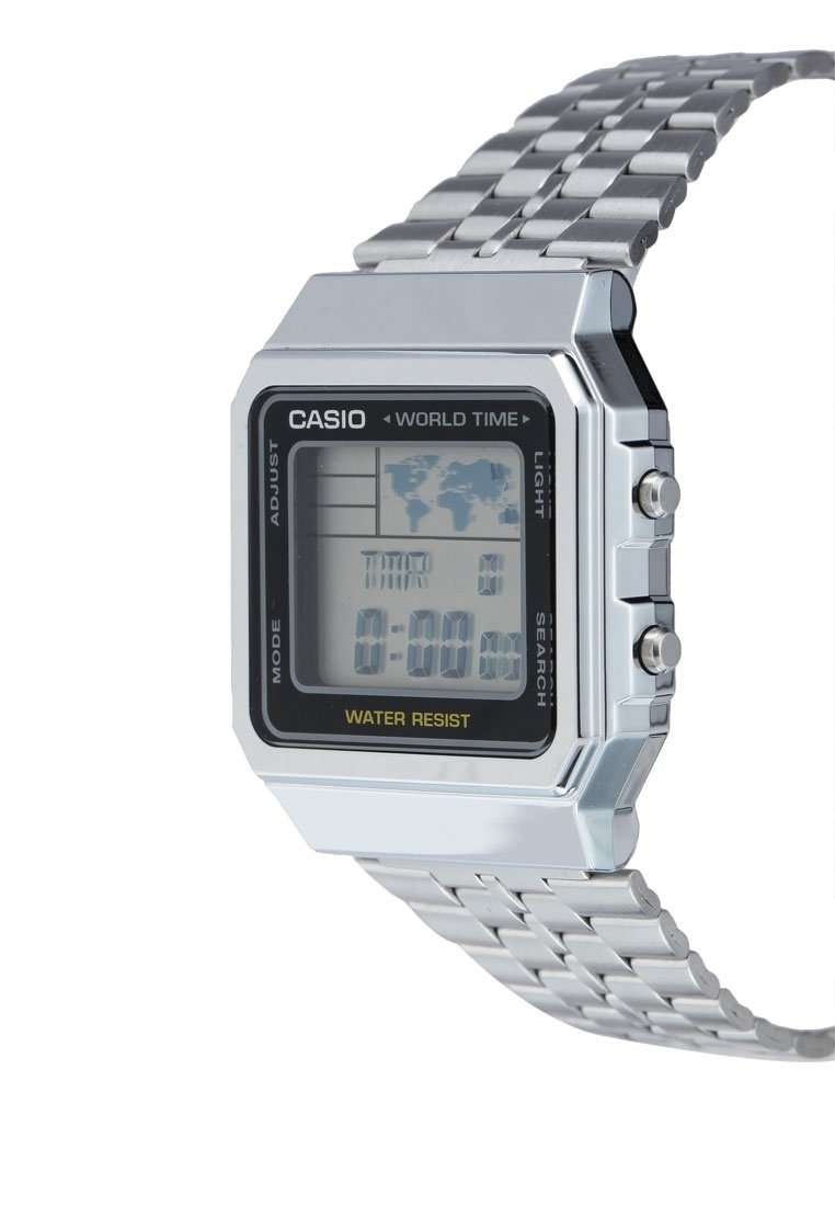 Casio Vintage A500WA-1D Silver Stainless Watch Unisex