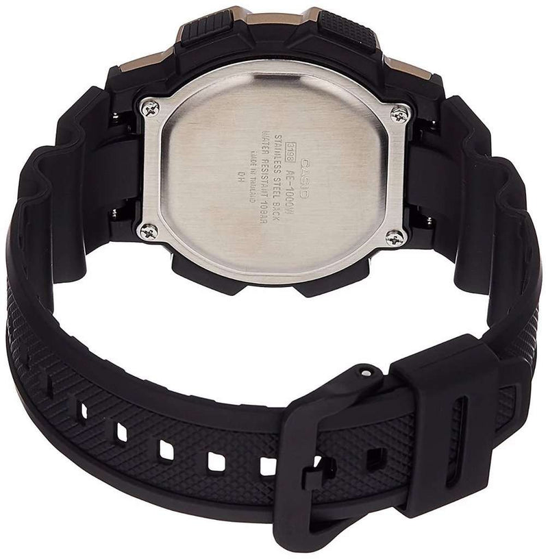 Casio AE-1000W-1A3 Black Resin Strap Watch for Men