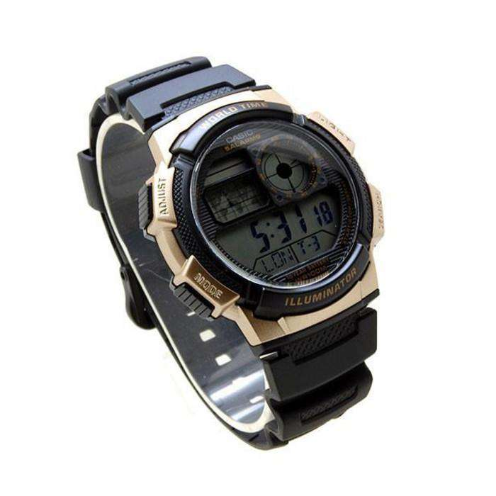 Casio AE-1000W-1A3 Black Resin Strap Watch for Men - Watchportal Philippines