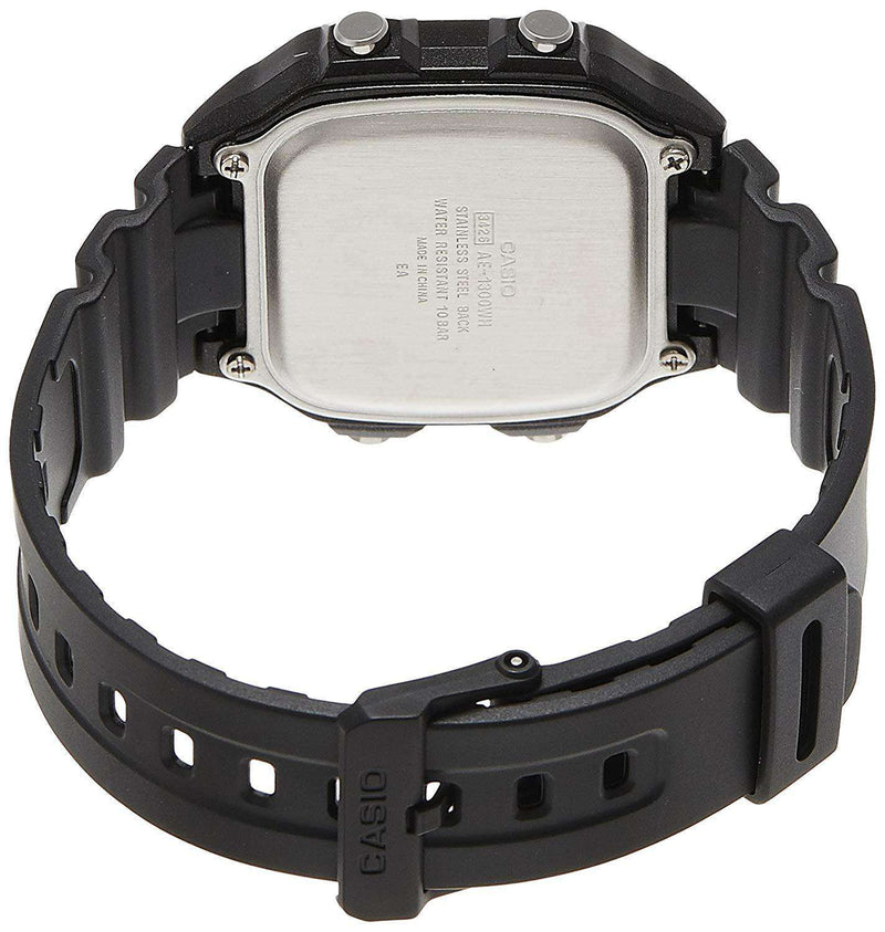Casio AE-1300WH-1AVDF Black Resin Watch for Men