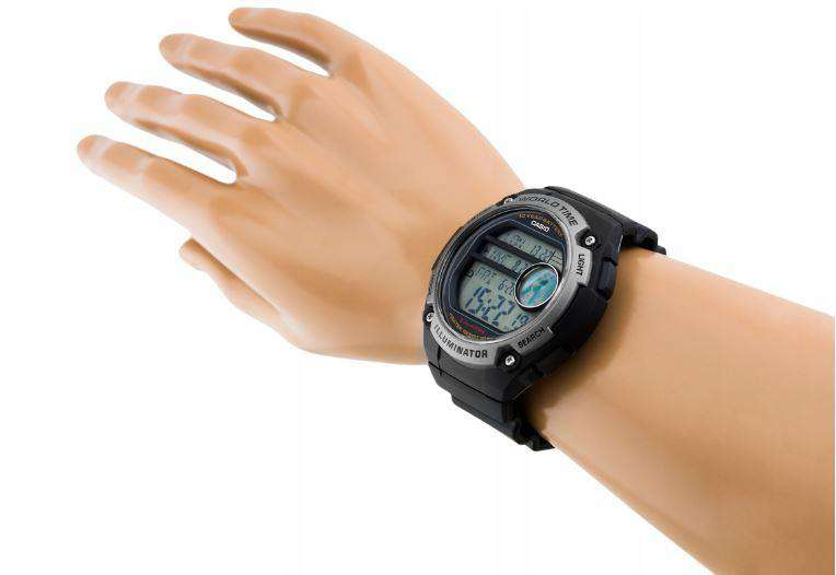 Casio AE-3000W-1AVDF Black Resin Watch for Men