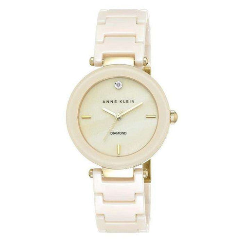Anne Klein AK-1018IVGB Ivory Watch For Women - Watchportal Philippines