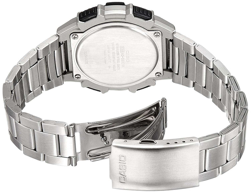 Casio AQ-S800WD-7EVDF Silver Stainless Watch for Men