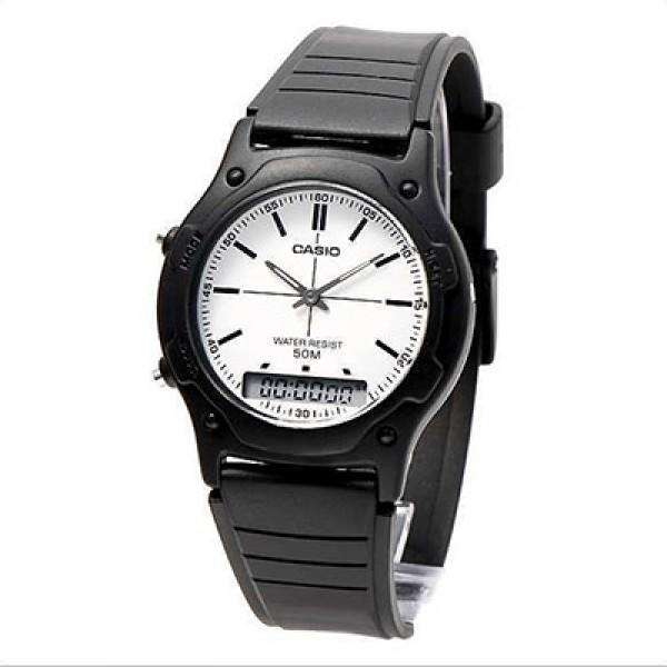 Casio AW-49H-7EVDF Black Resin Watch for Men and Women