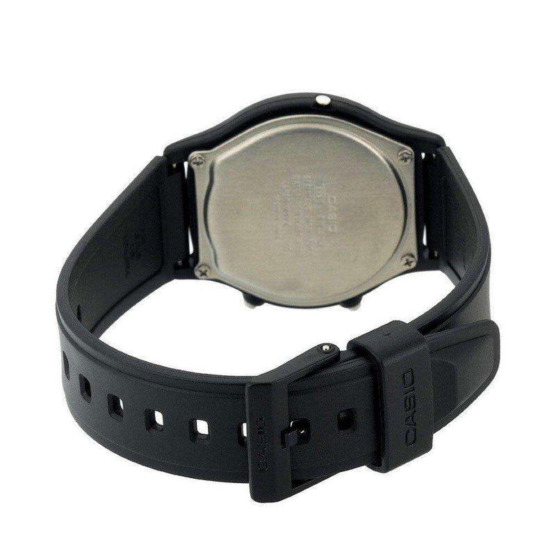 Casio Standard AW-49HE-1AVDF Black Resin Strap Watch for Men and Women