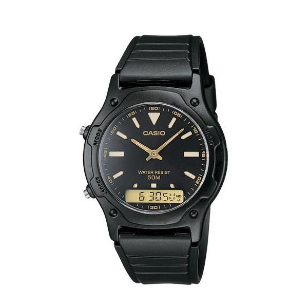 Casio Standard Men's Black Resin Strap Watch- AW-49HE-1AVDF - Watchportal Philippines
