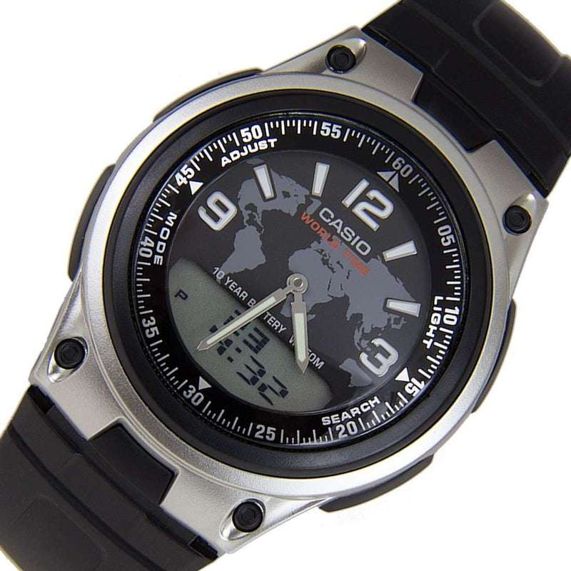 Casio AW-80-1A2 Black Resin Watch for Men