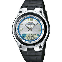 Casio AW-82-7AVDF Black/Silver Resin Strap Watch for Men