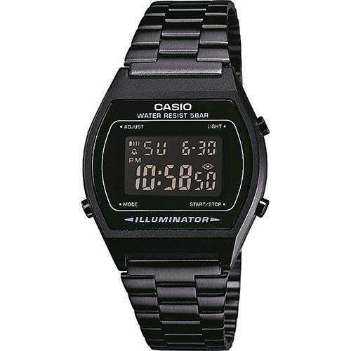 Casio B640WB-1B Black Stainless Watch for Men and Women