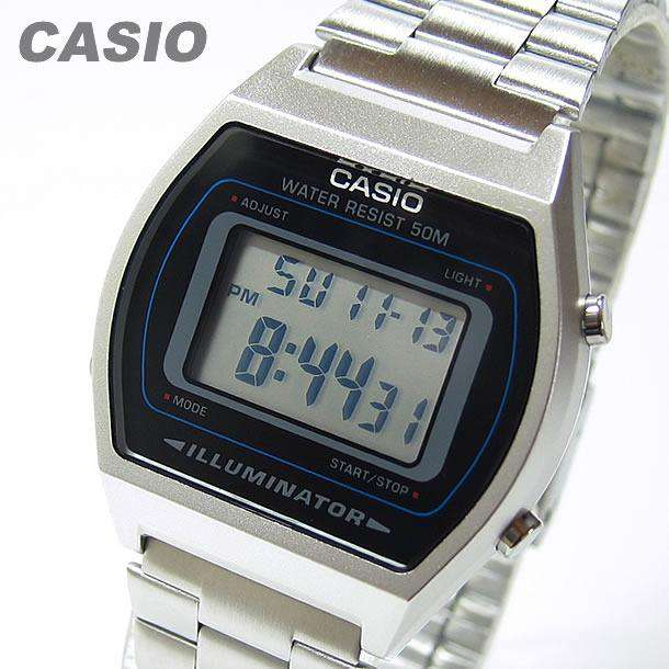Casio Vintage B640WD-1A Silver Stainless Watch for Men and Women