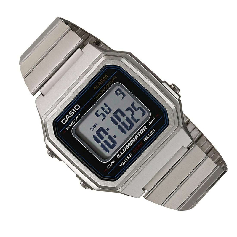 Casio B650WD-1A Silver Stainless Steel Watch for Men and Women